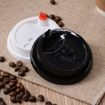 Plastic Coffee Cup Lid, Disposable 70mm Lids