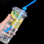 Customed Transparent Plastic Cup