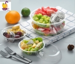 Free charge sample Clear Plastic Salad Box