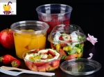 Biodegradable Salad Lunch Box Wholesale Plastic Food Storage